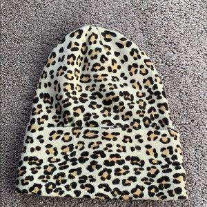 Leopard Beanie!